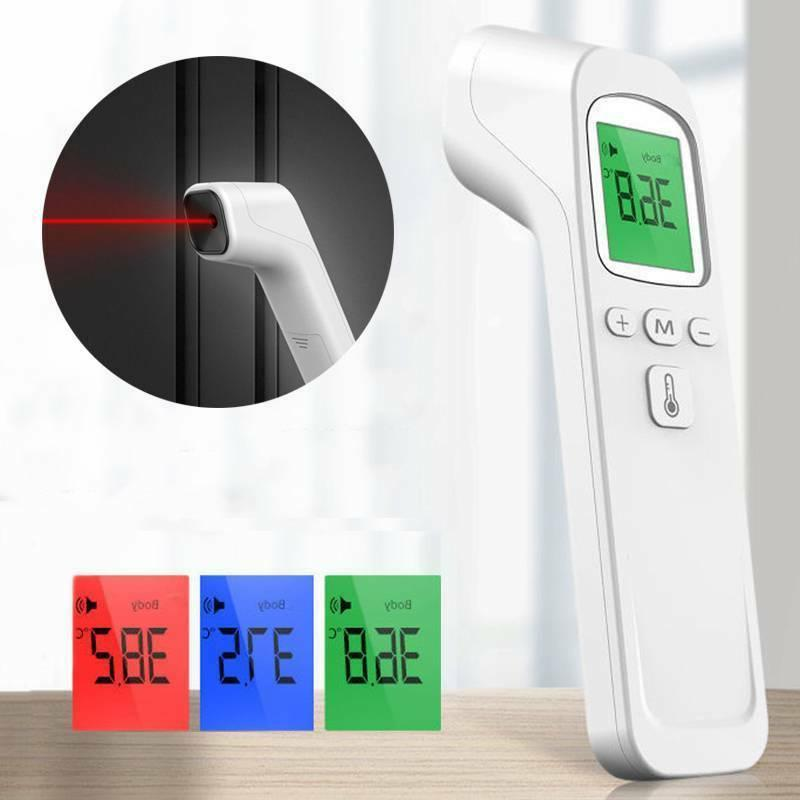 No Forehead Digital Infrared Temporal Thermometer for Fever