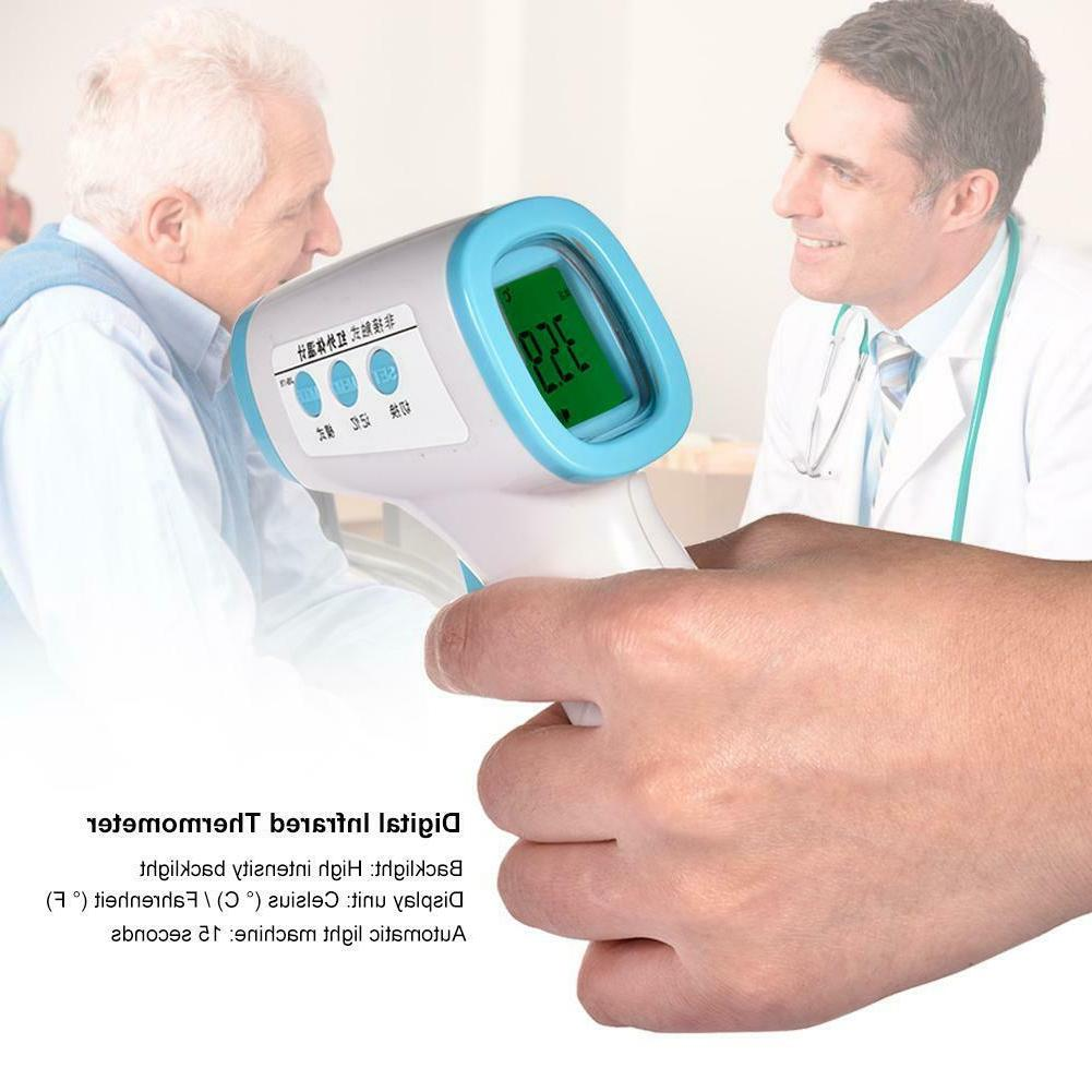 No-contact Touch IR Infrared Digital LCD Thermometer Forehea