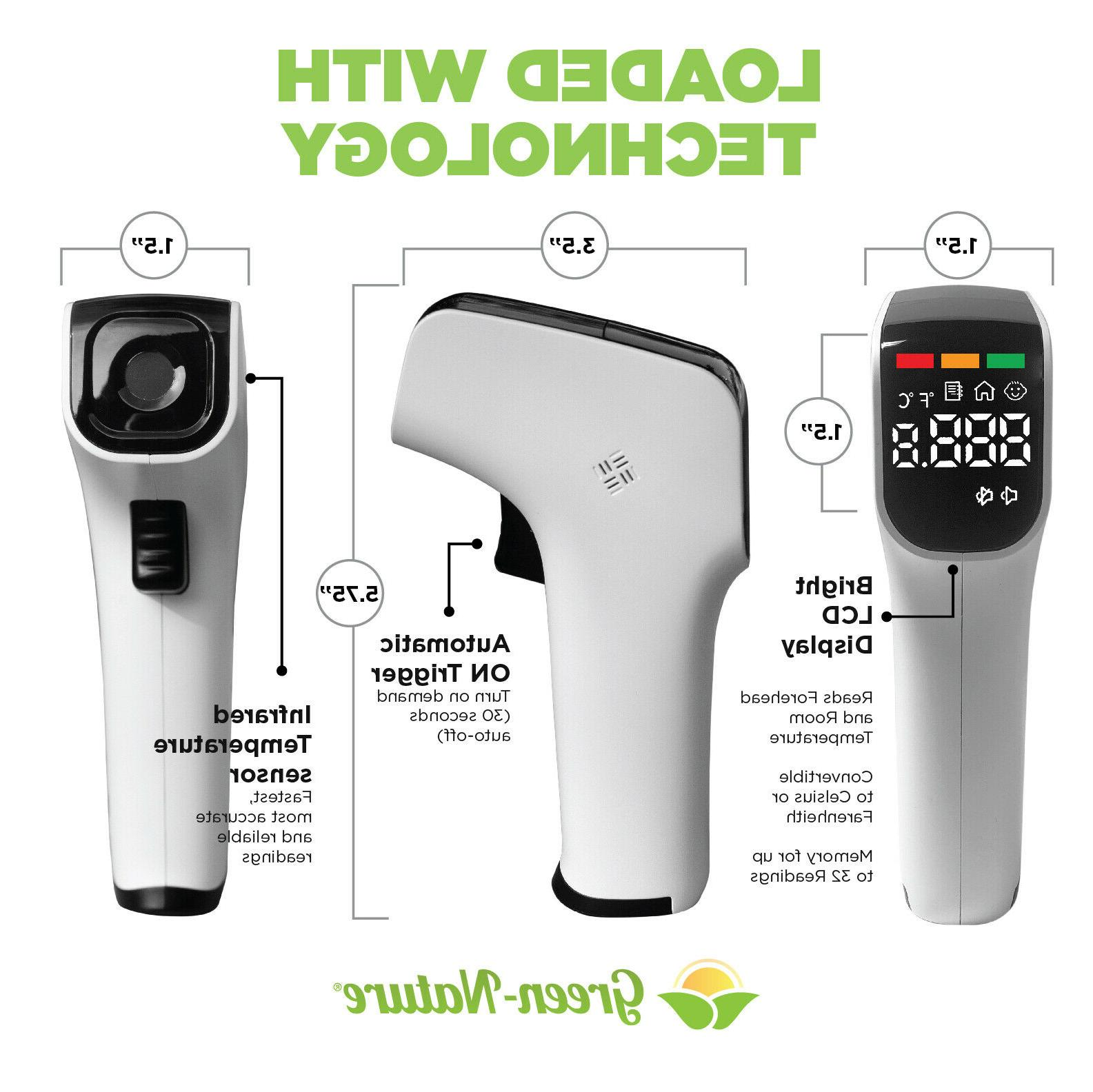 No-Touch Thermometer, Infrared Adult,Kid Baby Thermometer PC828 Model.
