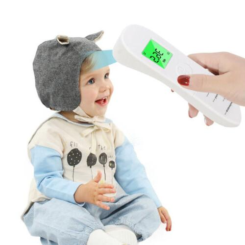 non contact digital infrared temporal forehead thermometer