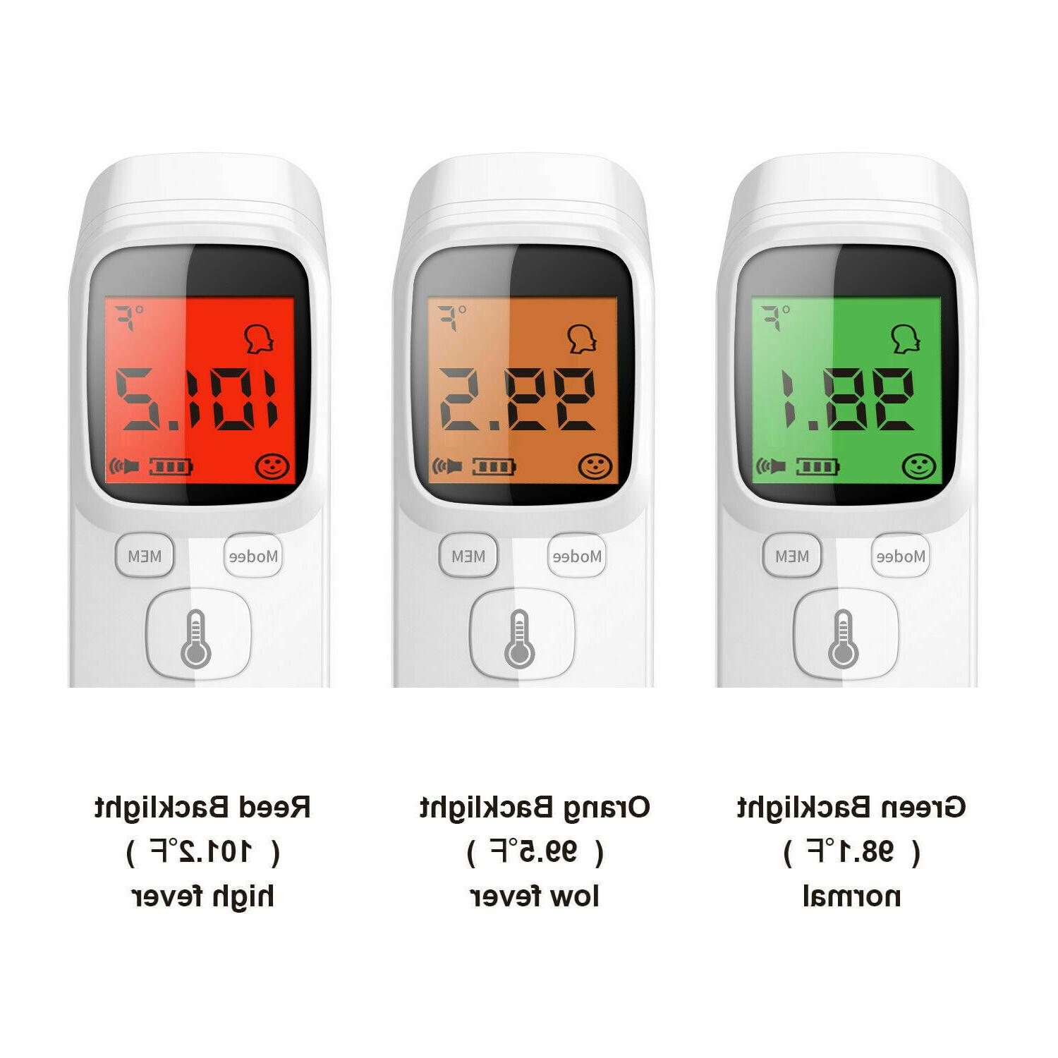 IR Infrared Thermometer Non-Contact Body Temperature
