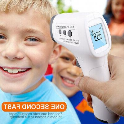 Non Contact Digital IR Infrared Forehead Thermometer Gun Adu