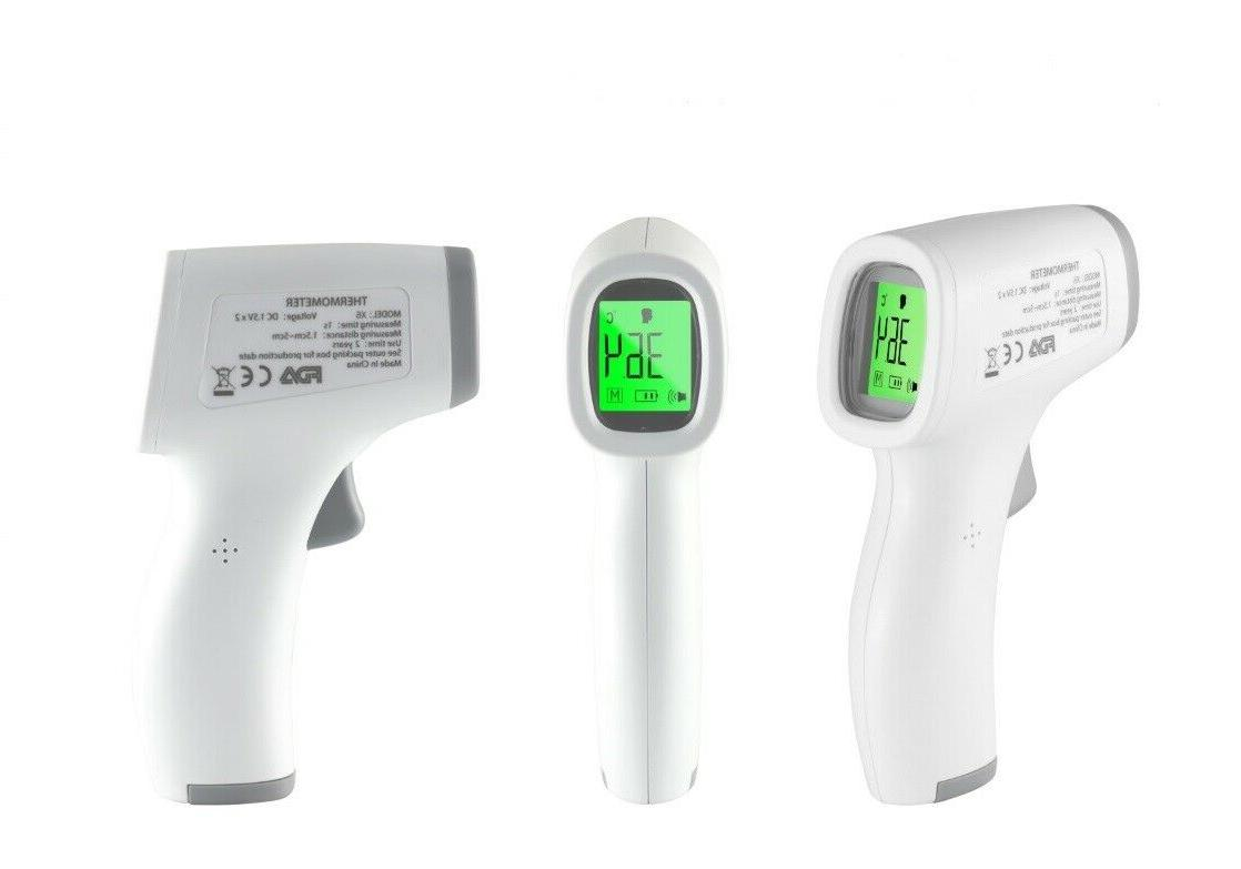 Non-Contact IR Infrared Thermometer Gun LCD Digital Body Adult