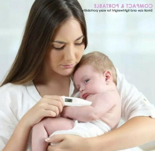 Oral Thermometer For Baby Kid Adult Health Fever FDA