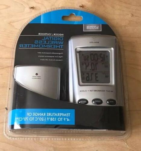 outdoor indoor thermometer digital wireless rv living