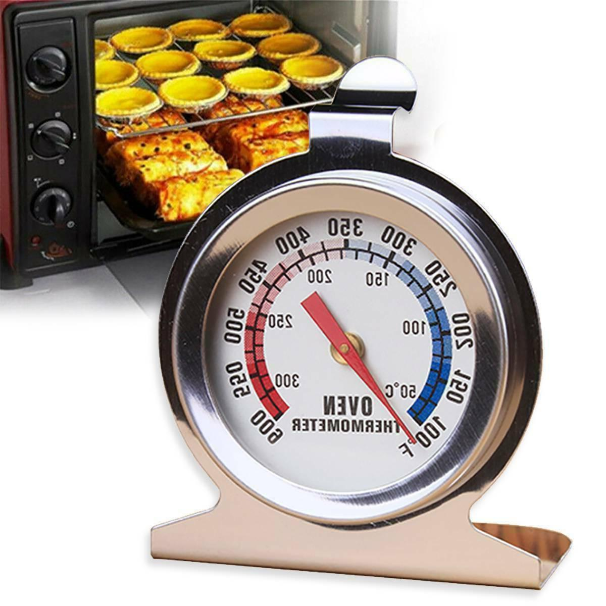 Oven Thermometer Steel Classic Meat Temperature Gauge
