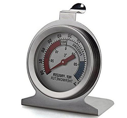 refrigerator freezer thermometer fridge dial