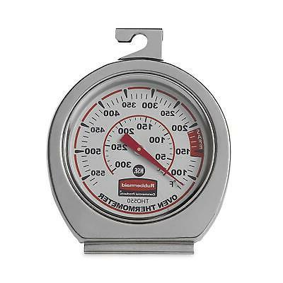 Rubbermaid Commercial Stainless Oven BBQ Thermometer