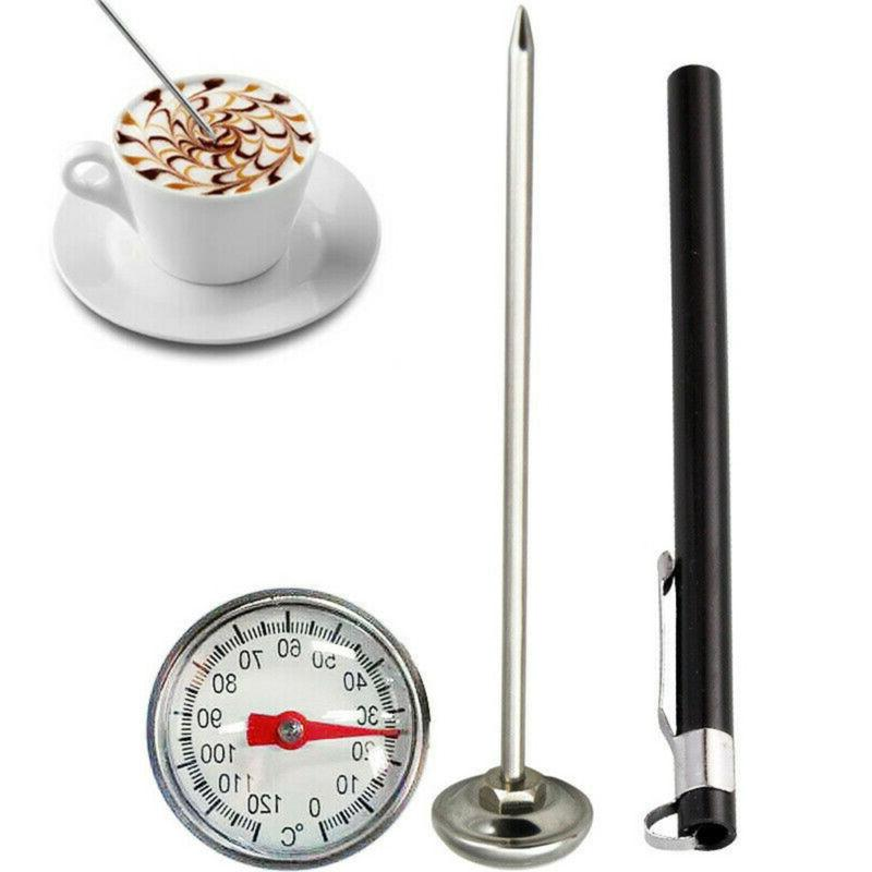 stainless steel pocket probe thermometer gauge