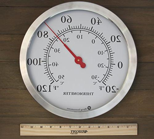Bjerg Thermometer, Inch