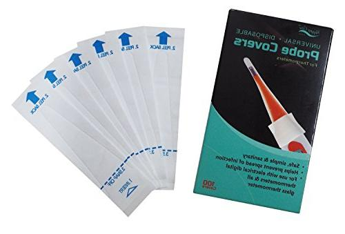 sterile safe thermometer probe covers