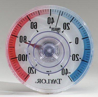 Taylor Dial Window Thermometer-WINDOW