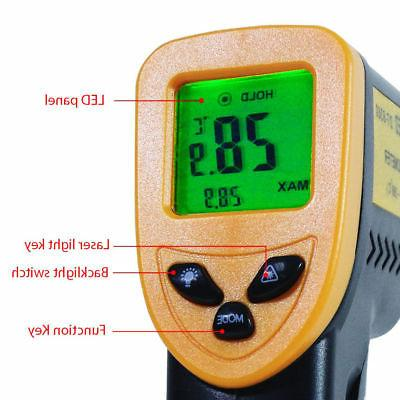 Temp Temperature Non-contact Digital Infrared IR Thermometer