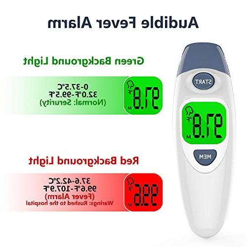 Hobest Baby Clinical Ear Accurate Digital Thermometer with Fever Function for Kids Children Approved