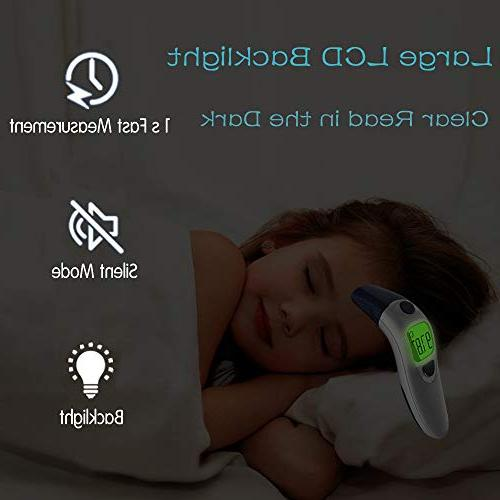 Hobest Tested Ear Thermometer, Thermometer Fever Function for Kids Children and Approved