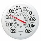Outdoor Thermometer Large Dial Weather Temperature Patio Wal