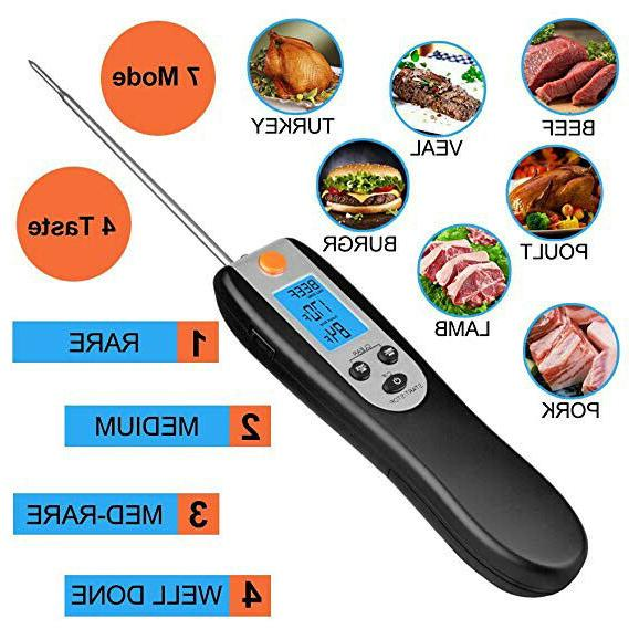 Thermometer Remote Meat Instant Wireless