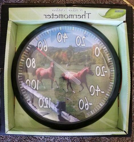 thermometer precision exclusive horses 13 dia new