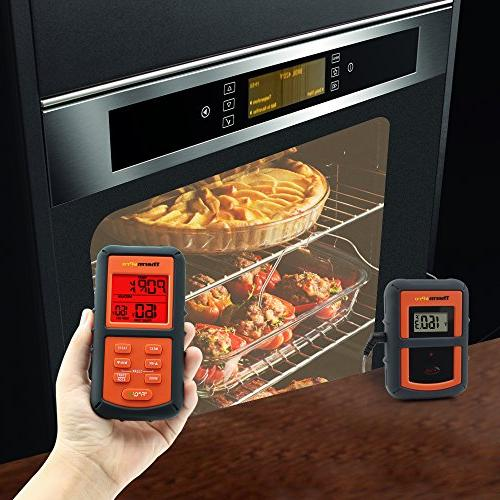 Digital Kitchen Cooking Food Meat Thermometer for BBQ Oven,