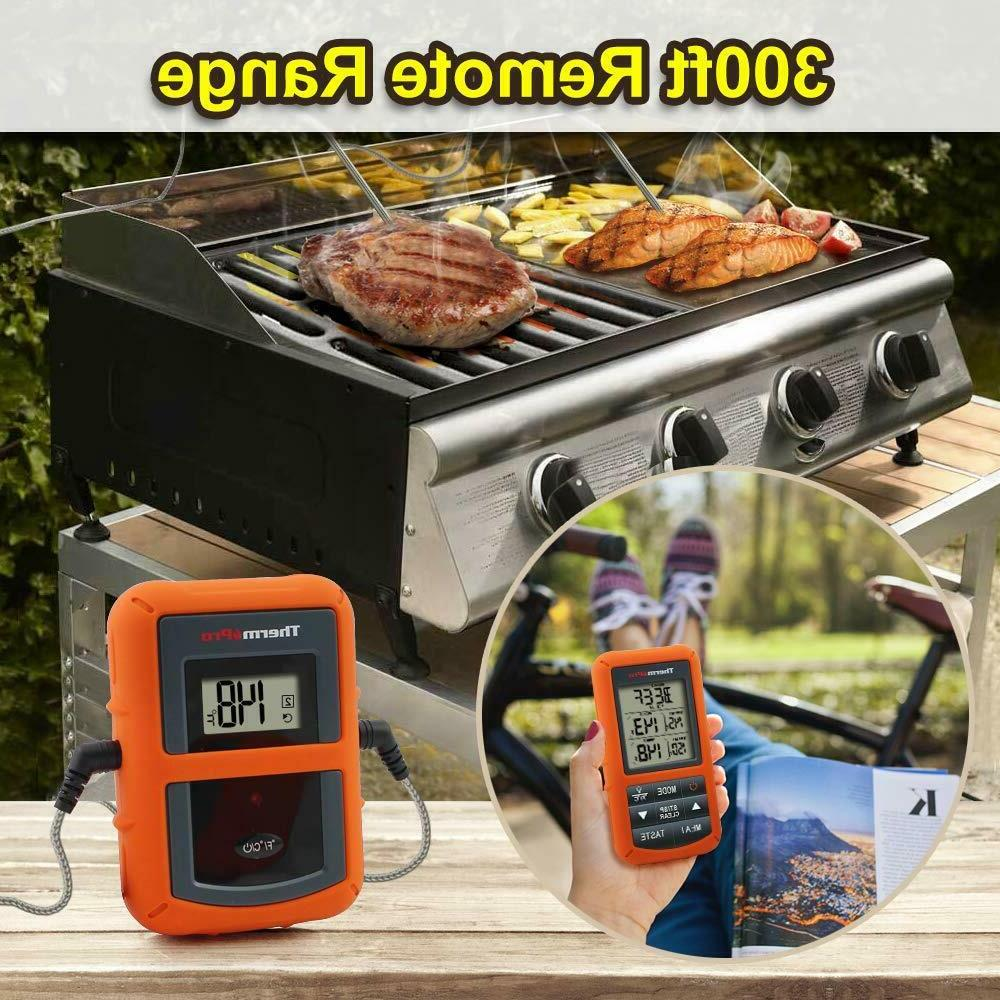 ThermoPro TP20 Wireless Cooking Meat with