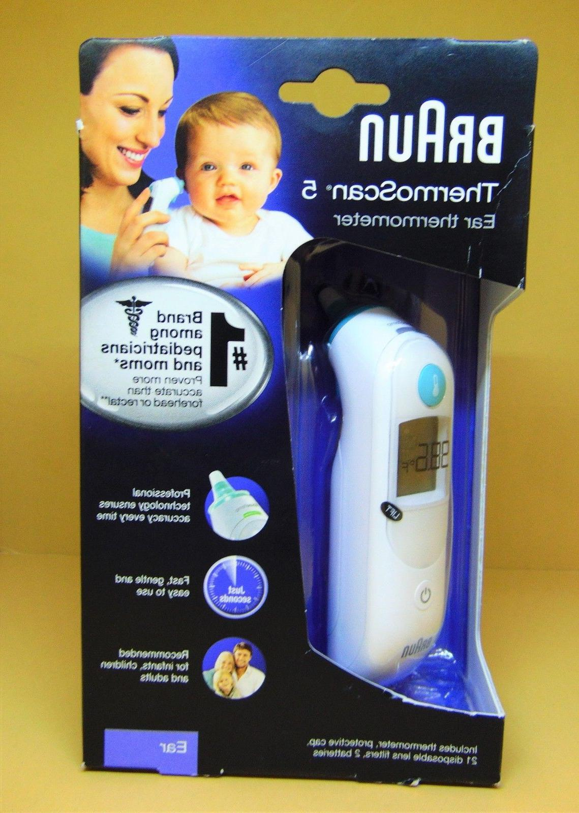 thermoscan 5 ear thermometer