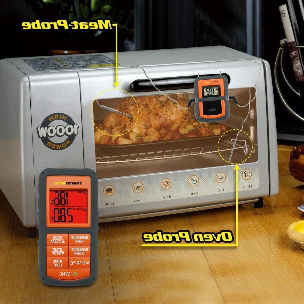 ThermoPro TP-08S Wireless Meat Probe Smoker Oven