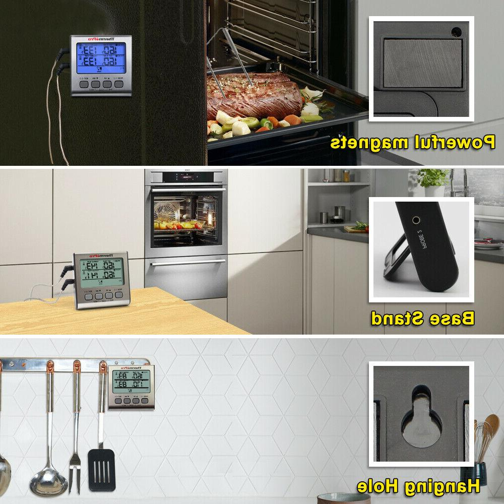 ThermoPro TP-17 Dual Digital Cooking Meat Large LCD Backlight