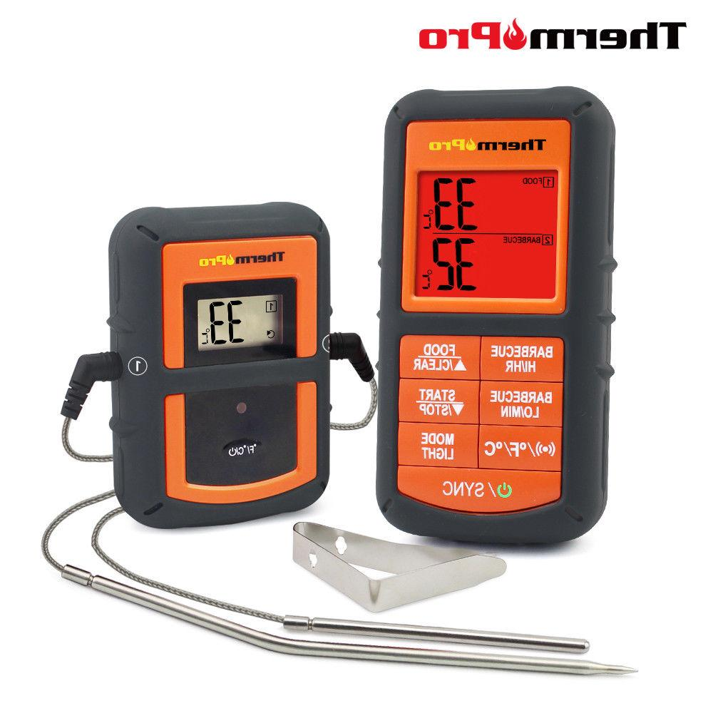 tp08 wireless remote digital kitchen cooking thermometer