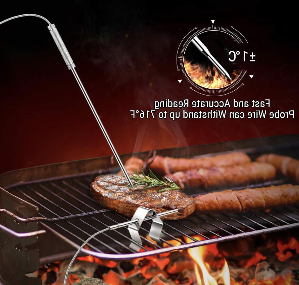 ThermoPro TP08S Wireless Meat Thermometer Dual Probe For