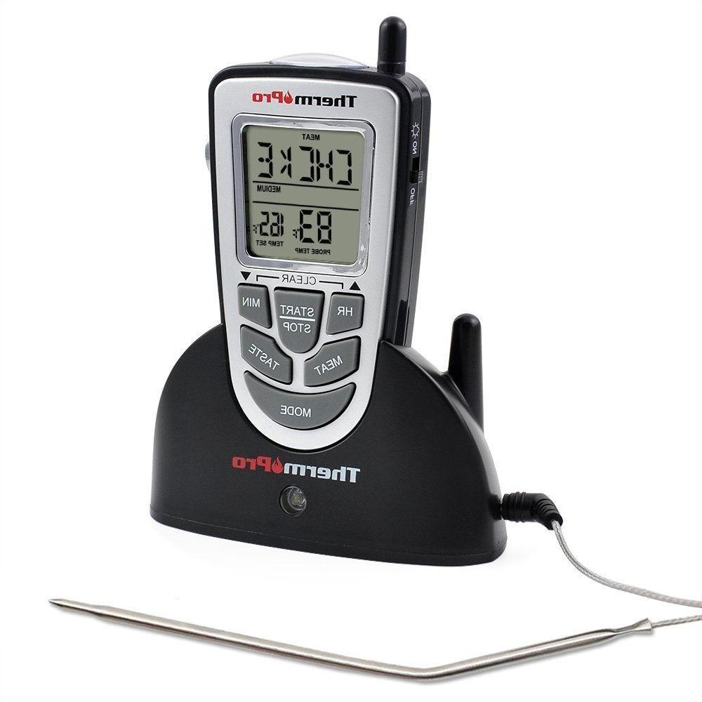 ThermoPro Remote Meat BBQ Smoker Thermometer