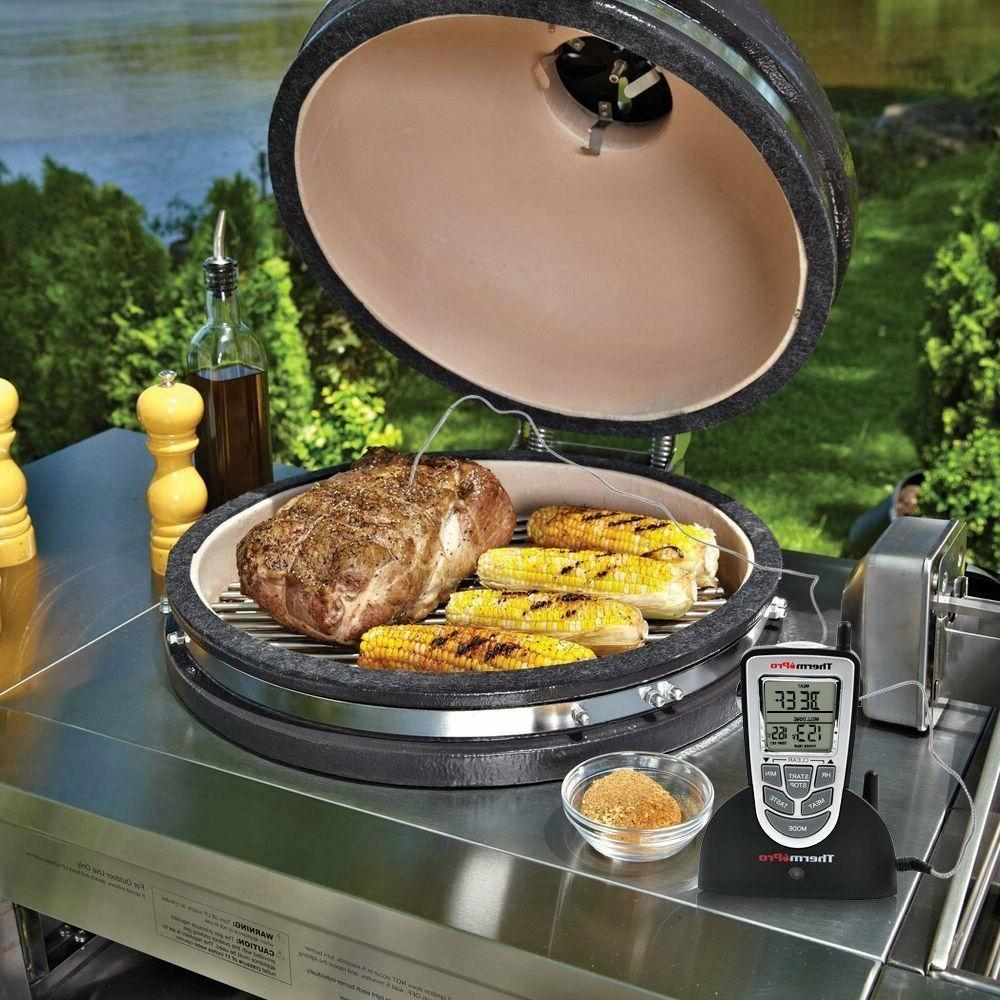 ThermoPro Electric Remote Meat Grill Oven Smoker Thermometer