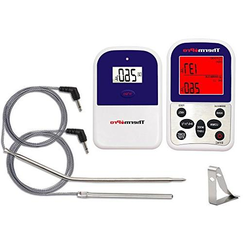 ThermoPro Wireless Digital Meat Thermometer Grilling Oven BBQ Grill 300