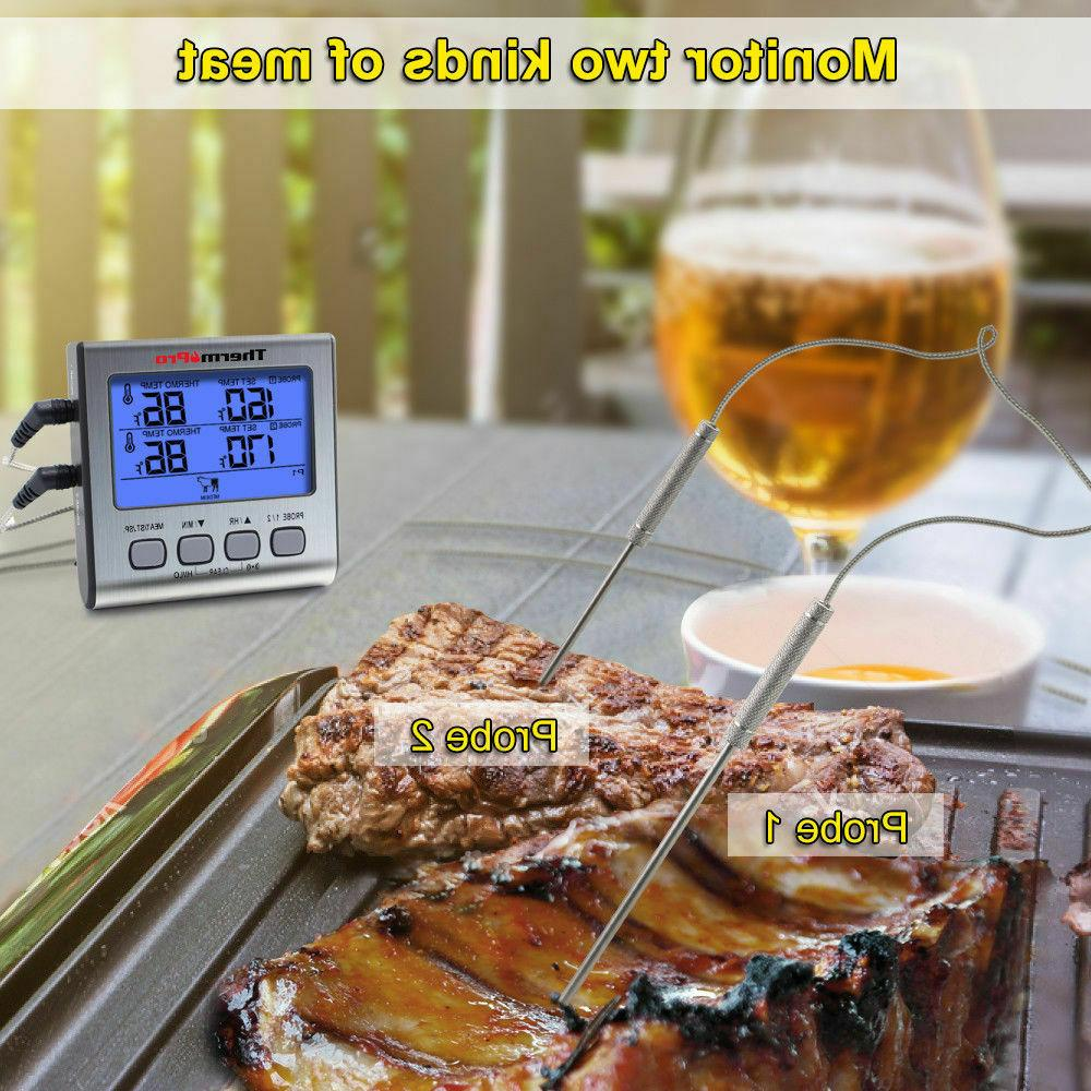 ThermoPro Digital Meat Thermometer Smoker BBQ