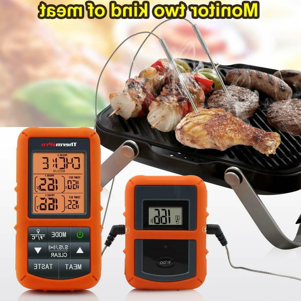 ThermoPro Cooking Meat Thermometer Dual