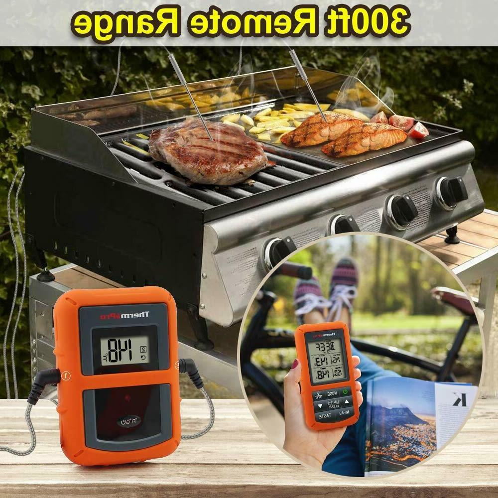 ThermoPro TP20 Cooking Thermometer Dual Probe NEW!!!