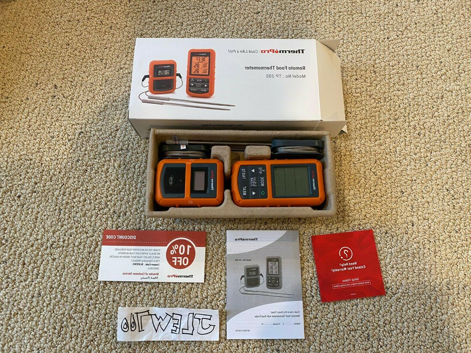 tp20 wireless digital cooking meat thermometer