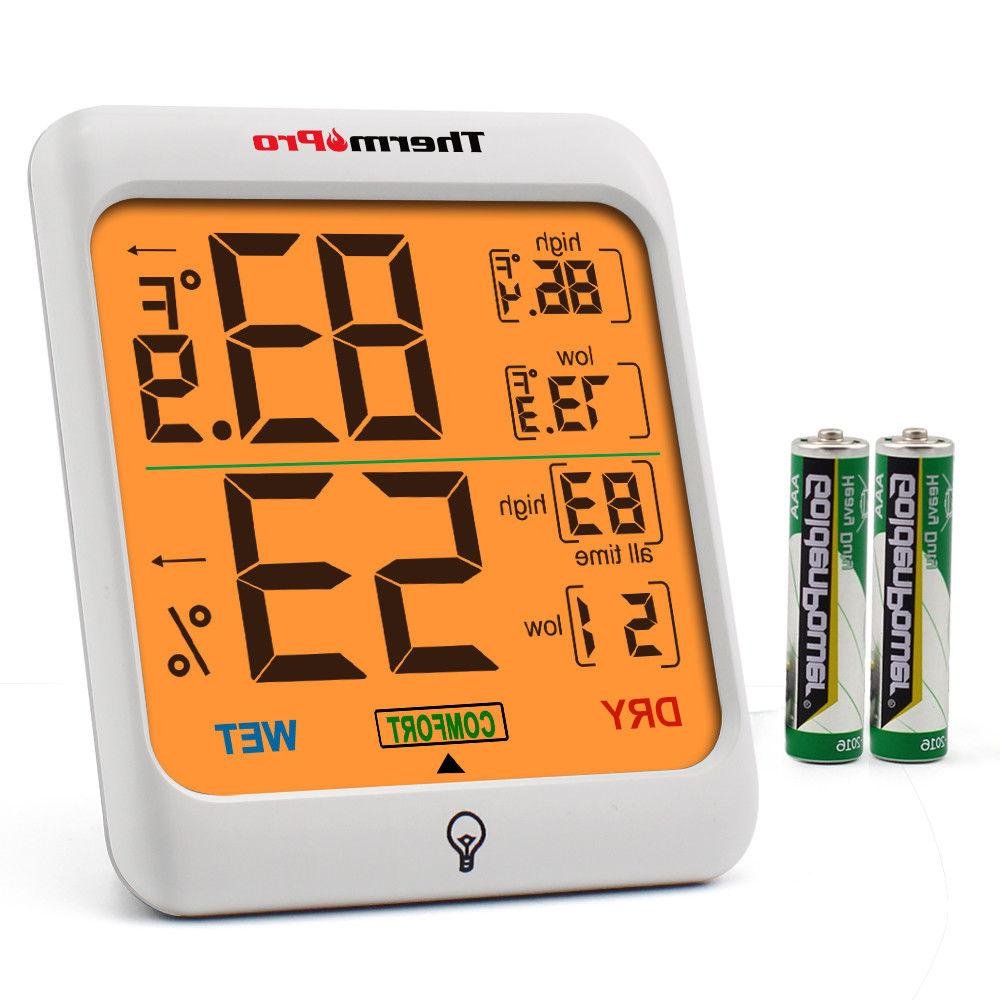 tp53 digital lcd indoor hygrometer thermometer room