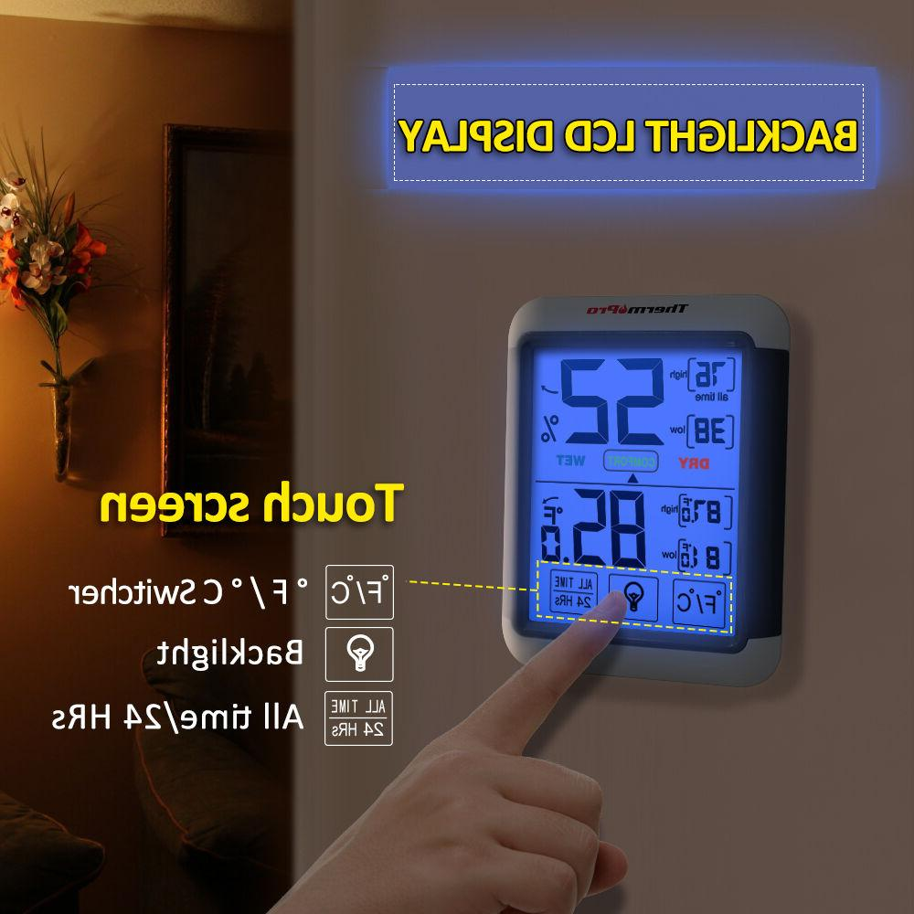 Thermometer Meter Touchscreen