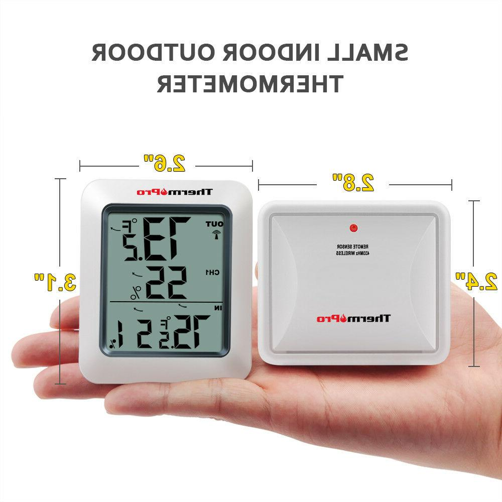 ThermoPro Digital Hygrometer Home Outdoor Meter