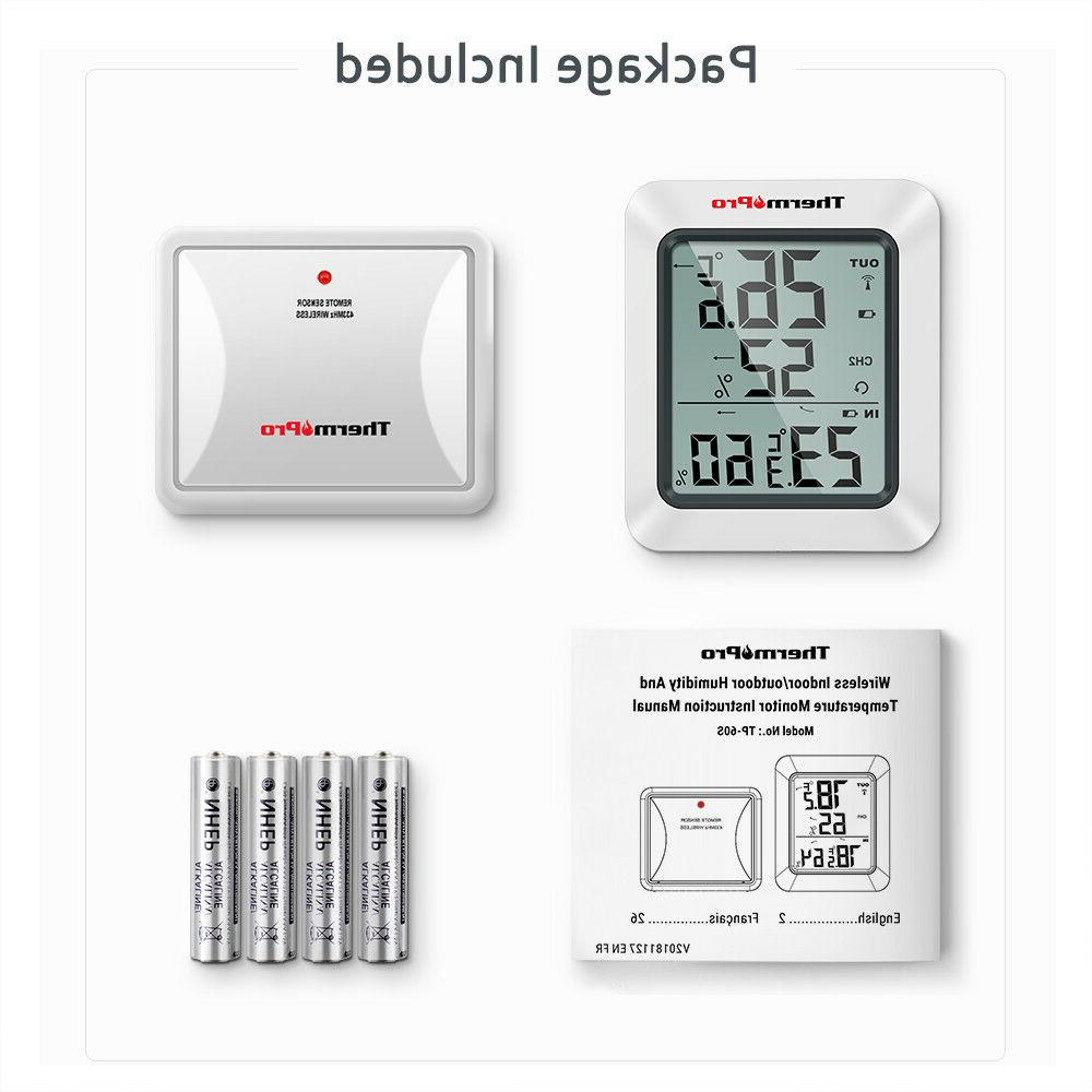 Digital Indoor Thermometer Monitor