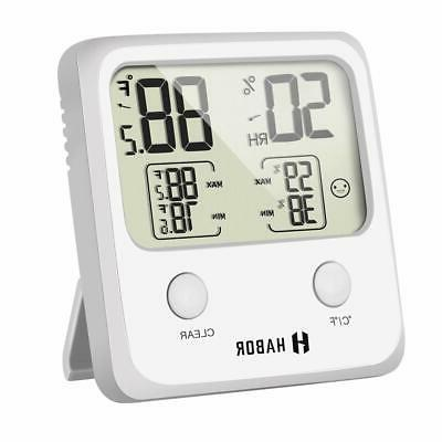 upgraded digital hygrometer indoor thermometer high accuracy