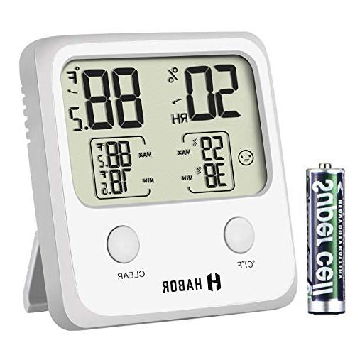 upgraded digital indoor hygrometer large lcd screen