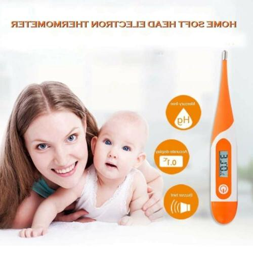 US Soft LCD Thermometer Body Safe Ear Temperature