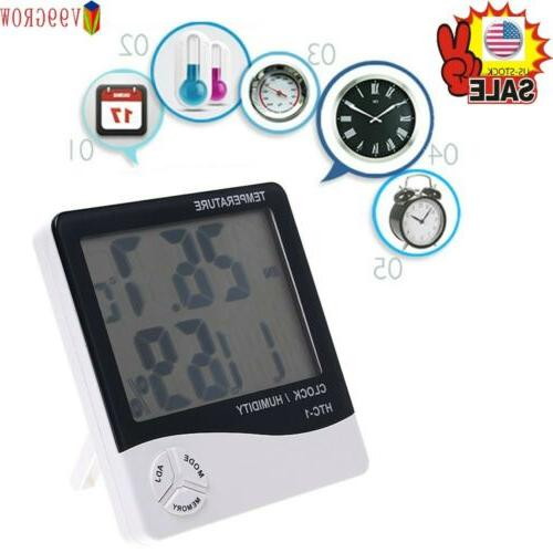 V99 LCD Hygrometer Thermometer Room Humidity Meter XS