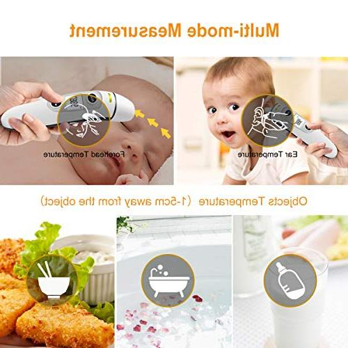 【New Medical and Ear Thermometer, Infrared Temporal Fever, for Baby Kids Adults - CE