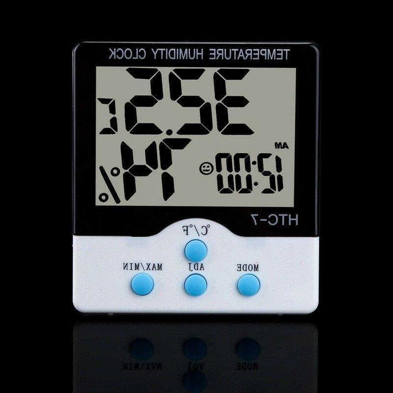 Wireless and Humidity Clock Weather