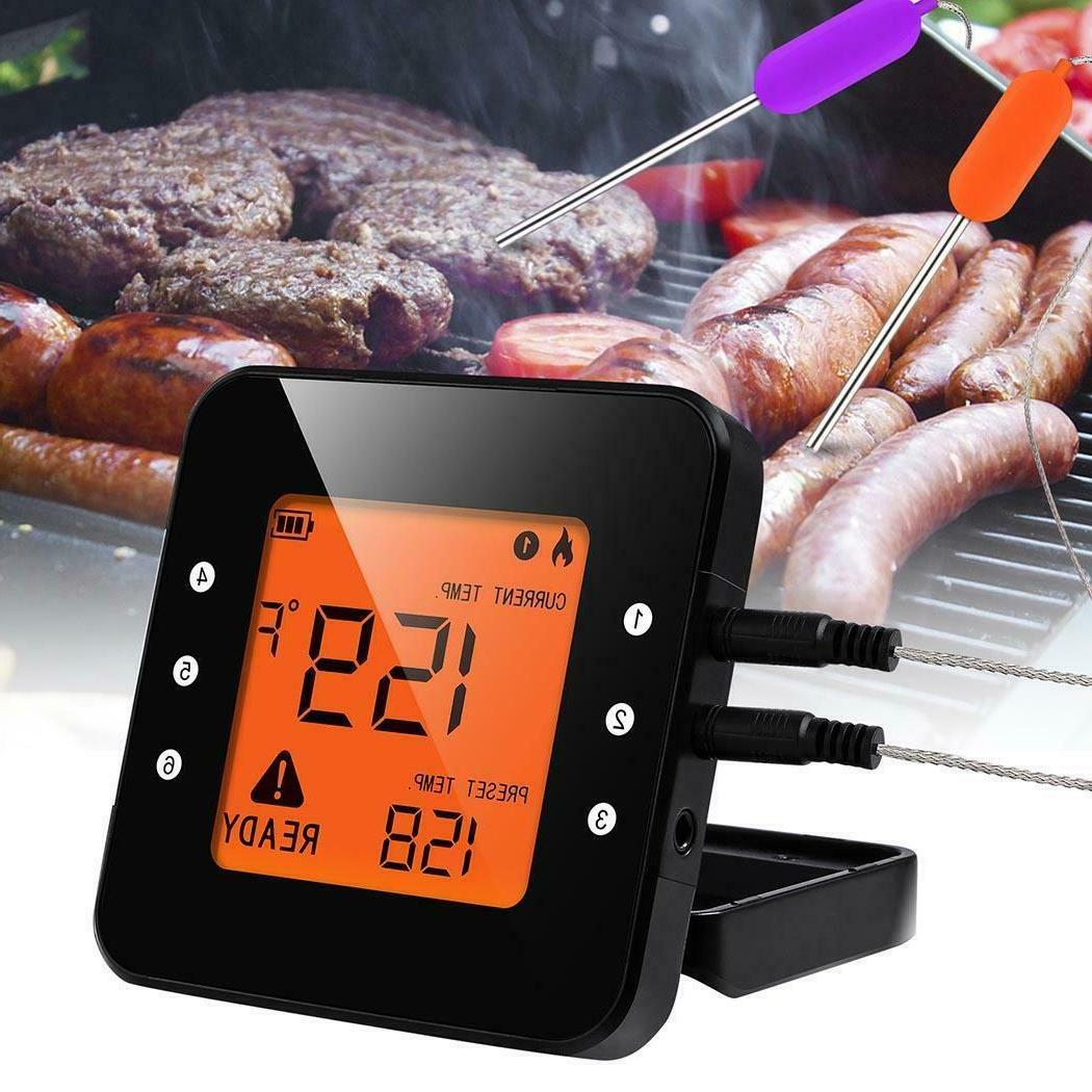 wireless grill thermometer bluetooth adapter digital cooking