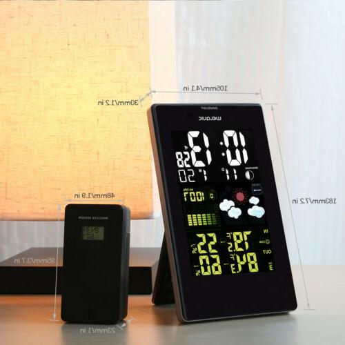 Wireless IN/OUT Temperature Humidity Forecast Thermometer