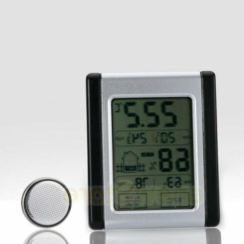 Wireless LCD Touch Thermometer Indoor US