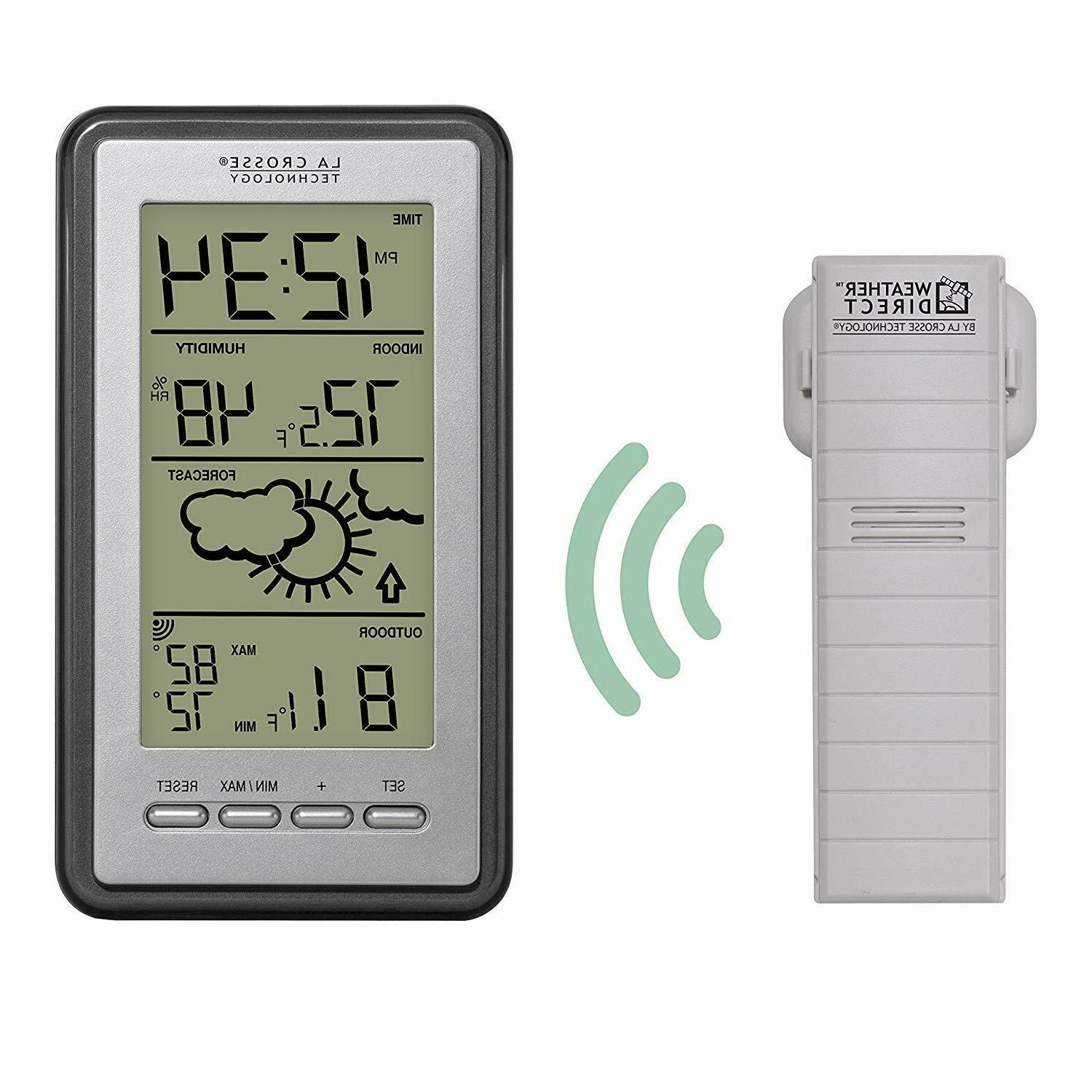 La Crosse Technology WS-9160U-IT Digital Thermometer with In